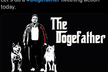 Trending DogeFather memes on twitter
