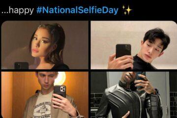 National Selfie Day trending on twitter