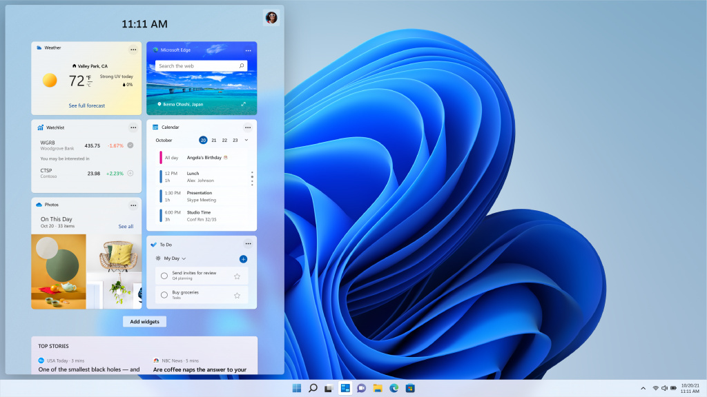 Windows-11-Widget-Pane