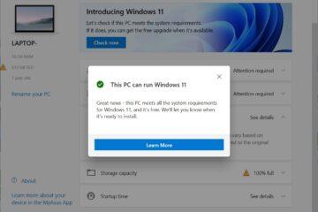 Microsoft PC Health Check for Windows 11
