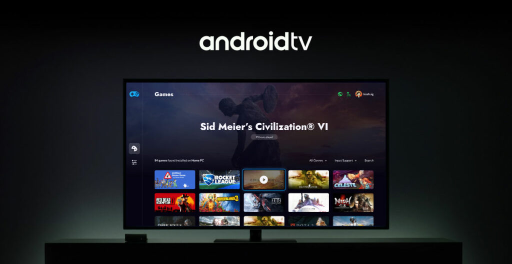 Stadia On android tv