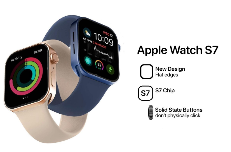 New S7 Processor And Longer Battery Life For Apple Watch Series 7