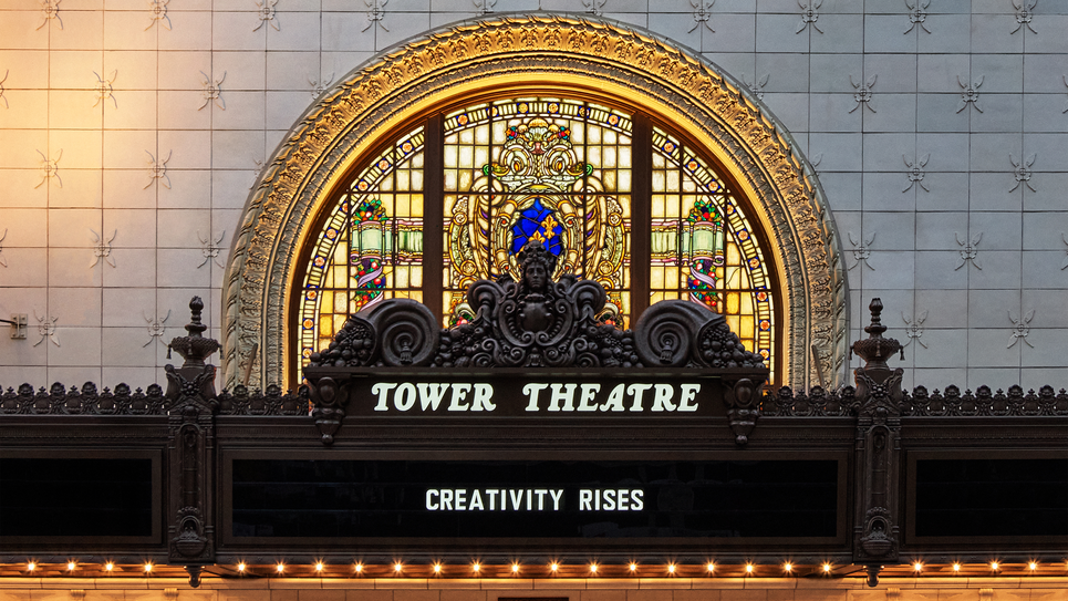 Apple Tower Theatre in Downtown L.A.