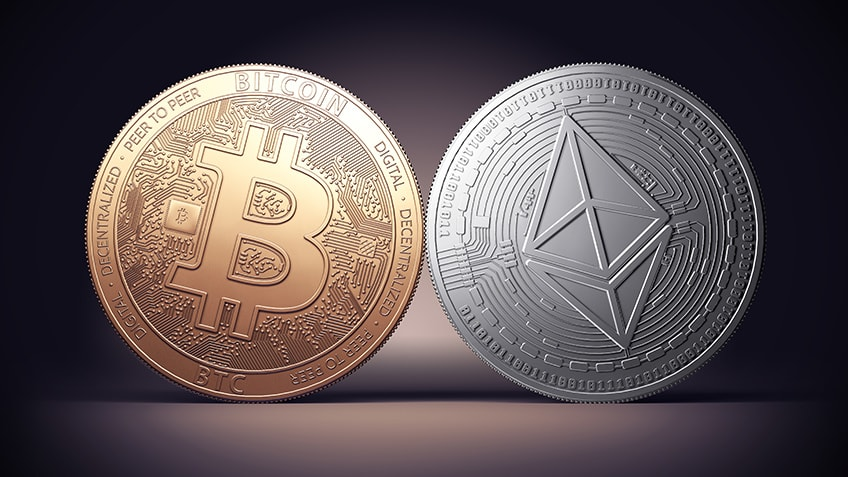 Bitcoin and Ethereum shows bullish signs