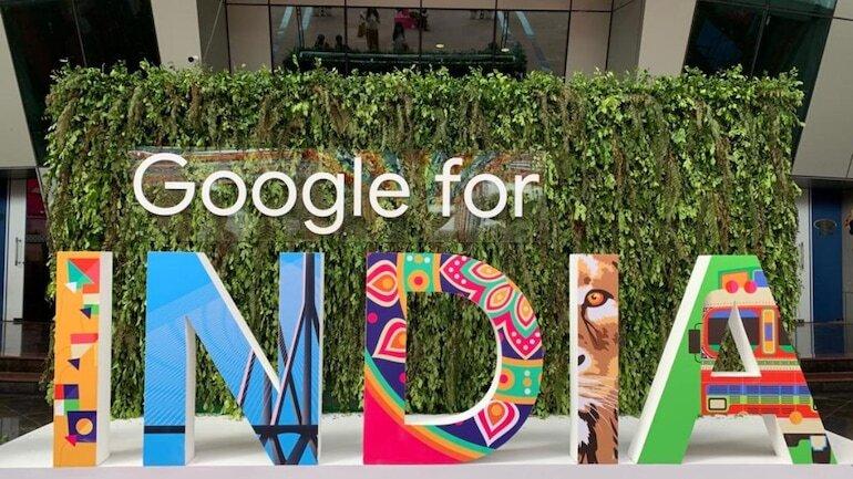 google for India logo
