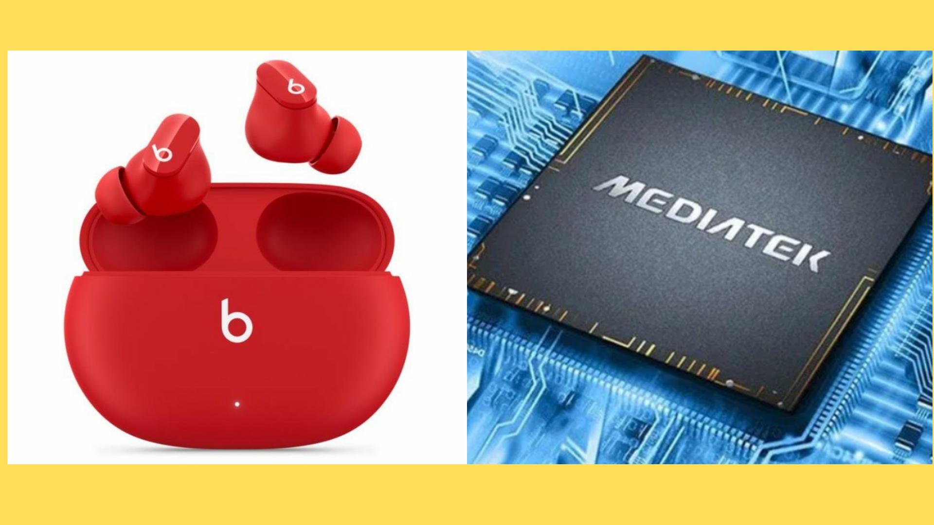 Apple Beats studio buds to feature MediaTek chipset instead Apple H1