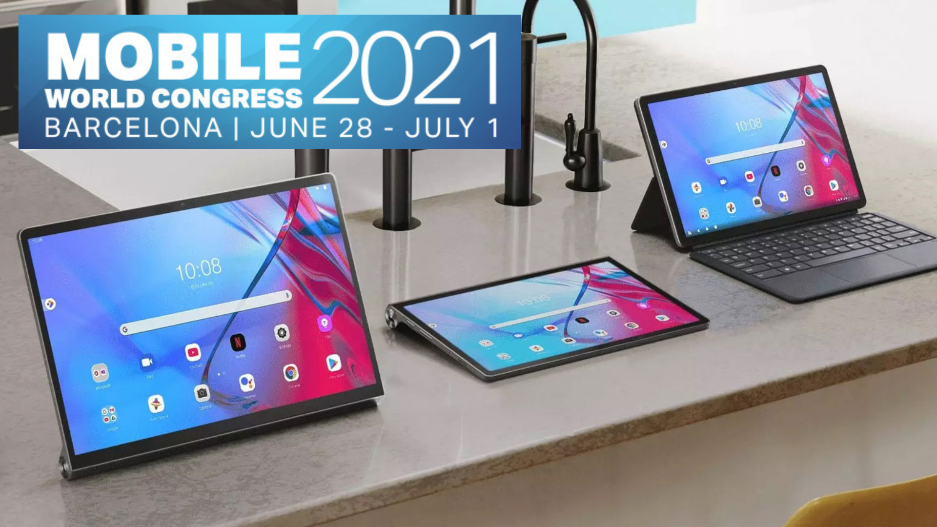 Lenovo launches Smart clock 2, Yoga tab 13 & other tablets in MWC 2021