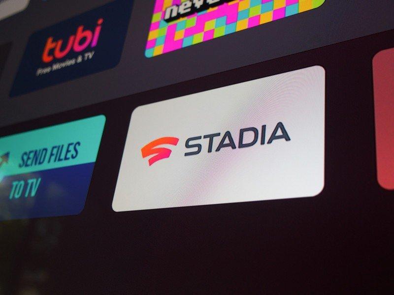 Stadia on tv