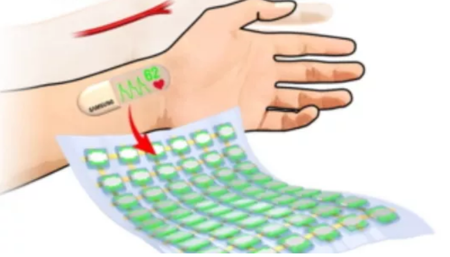 Samsung Futuristic Stretchable OLED Screen Protype