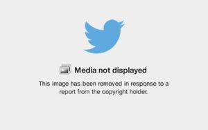 DMCA Twitter Takedown