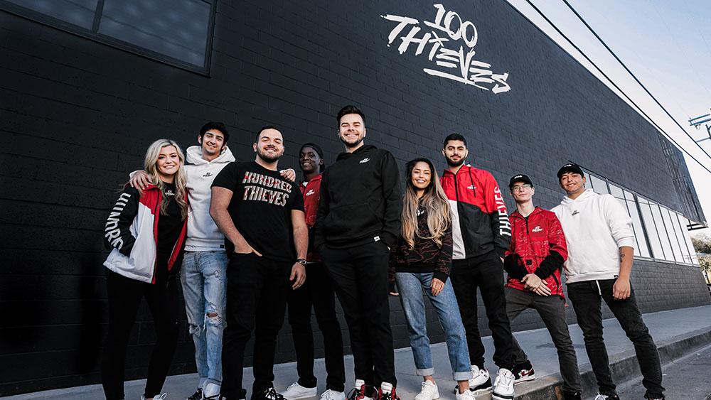 100 Thieves X Gucci