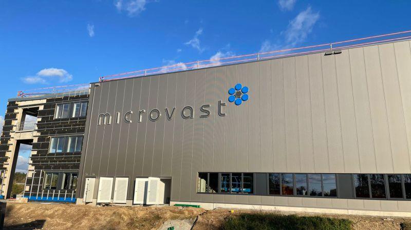 Microvast Tuscan merger