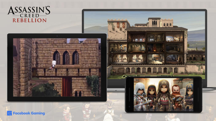 Facebook Partners With 'Assassin's Creed' Maker