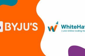 Byju's & WhiteHat Logo