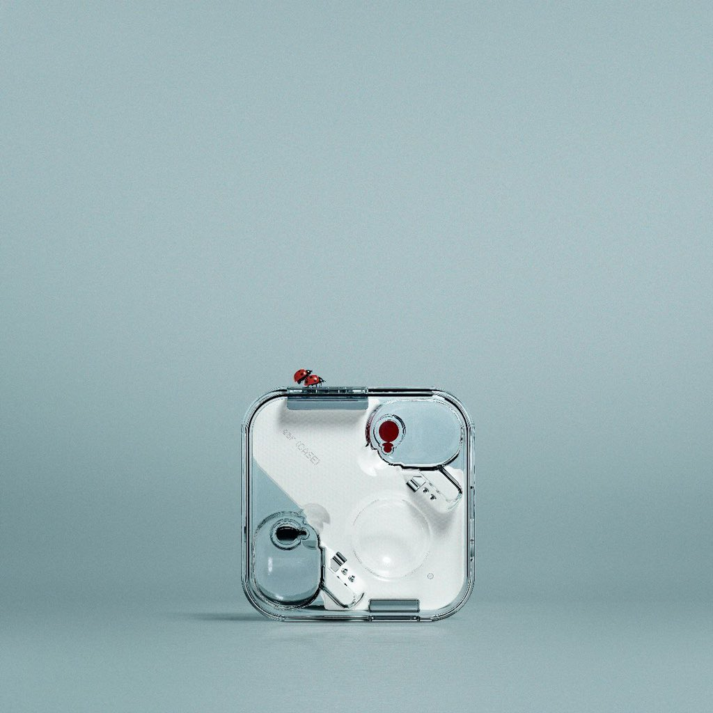 Nothing Ear (1) - Official Look With Transparent Case