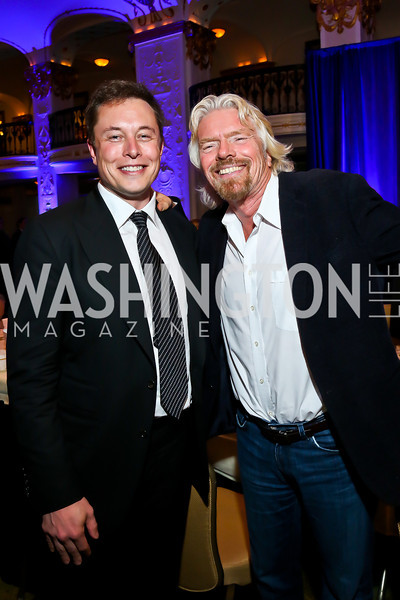 Richard Branson & Elon Musk