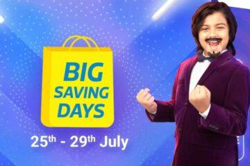 Flipkart Big Saving Days Sale 2021 Banner