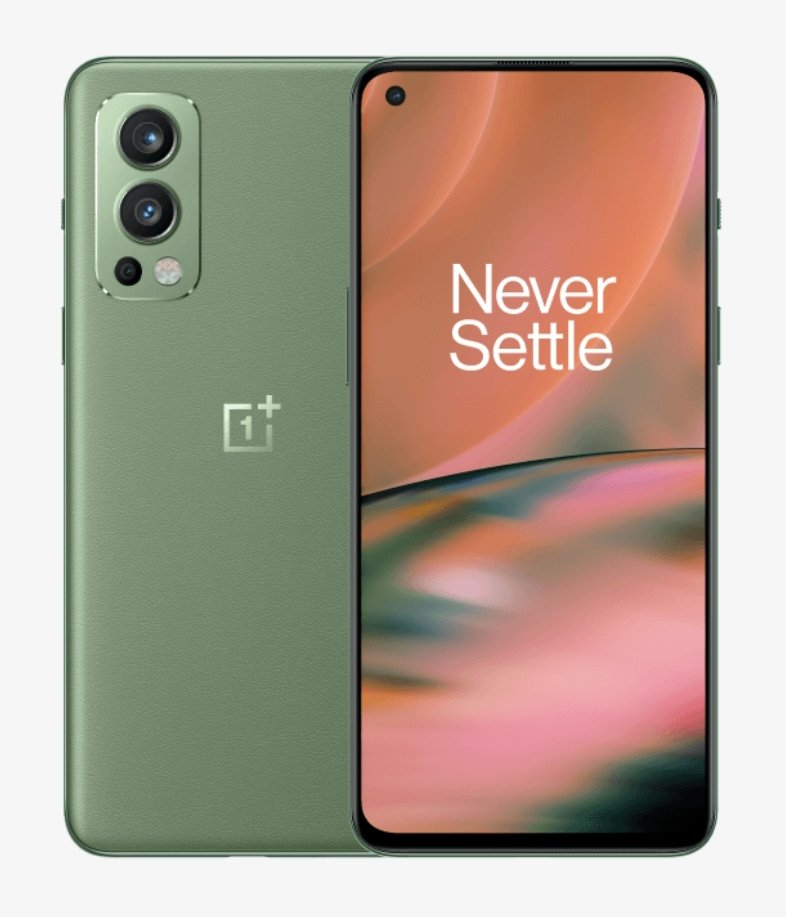 OnePlus Nord 2 In Green Wood Color