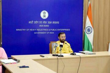 Union Minister Prakash Javakar