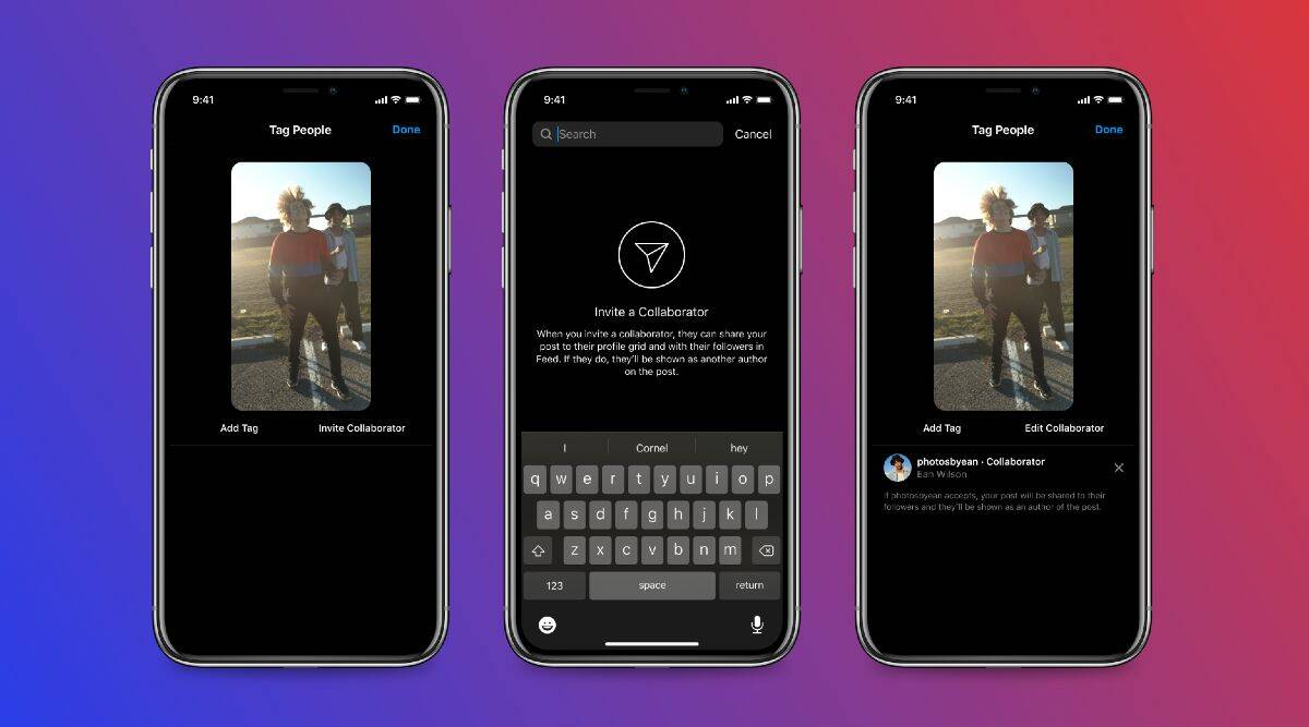 The new Collab feature will be quite handy for Instagram influencers and content creators