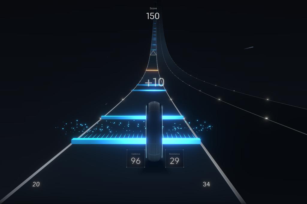 Peloton In-App Video Game