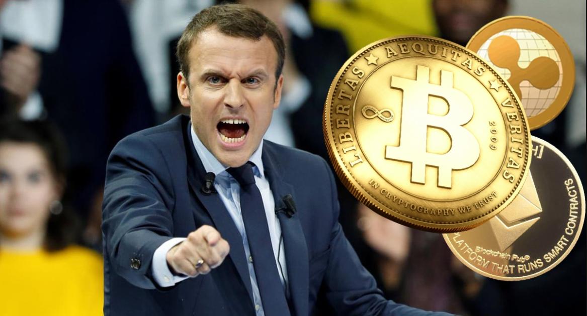 France President Macron on Crypto