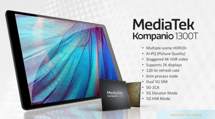 MediaTek Kompanio 1300T – Specification and features