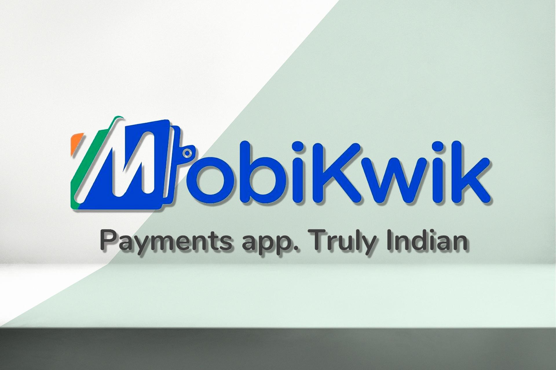 Mobikwik Logo on Green-White background