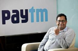 Vijay Shekhar Sharma, founder and chairman of One97 Communications Ltd., poses for a photograph at the company's headquarters in Noida, Uttar Pradesh, India, on Thursday, May 14, 2015.