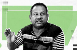 Image of Surendra Gadling accused in Bhima Koregaon violence case