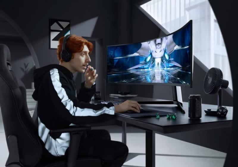 Samsung QLED Odyssey - first gaming display to achieve 2,000-nits brightness