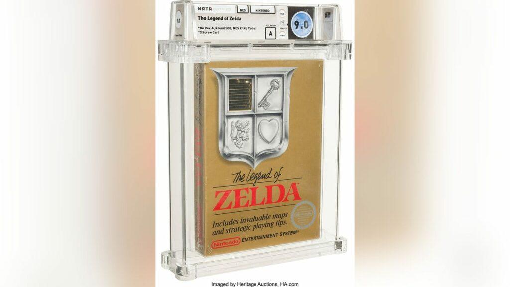 Zelda' Sells For Over $ 100,000