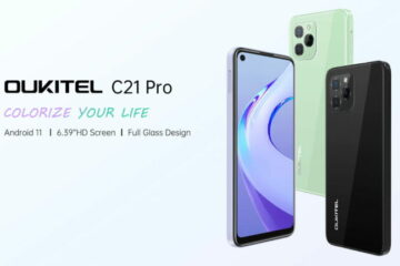 Oukitel launches C21 Pro with 6.39-inch punch-hole display, 4,000 mAh battery for $94.99