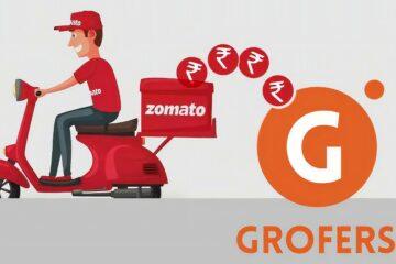 Zomato Grofers Logo