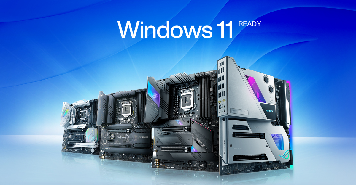 """Asus reveals """"New list of motherboards"""" supporting Microsoft Windows 11 update"""