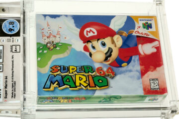 'Super Mario' Video Game Cartridge Sold For A Record-Breaking $1.5 Million