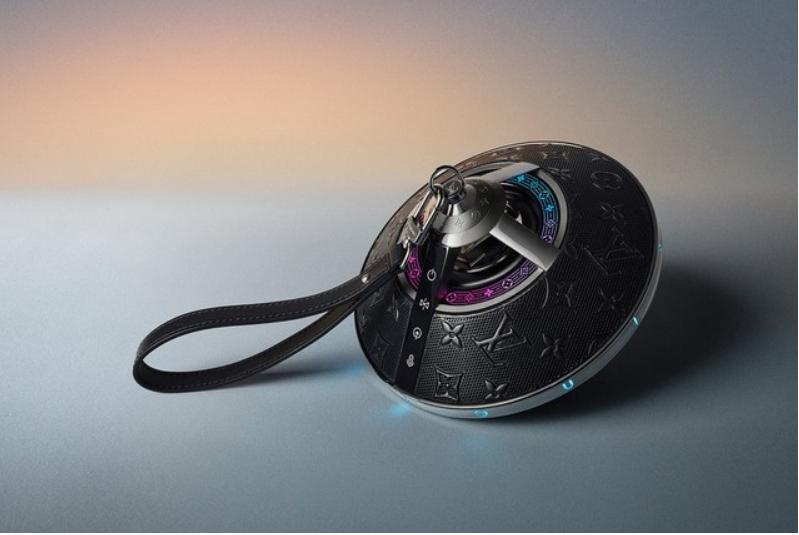 Louis Vuitton UFO shape wireless speakers