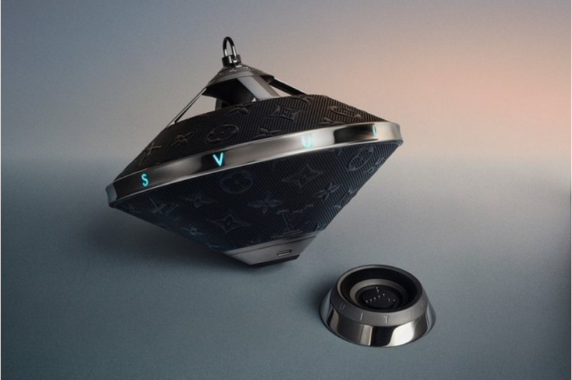 Louis Vuitton launches new wireless speakers in a UFO shape