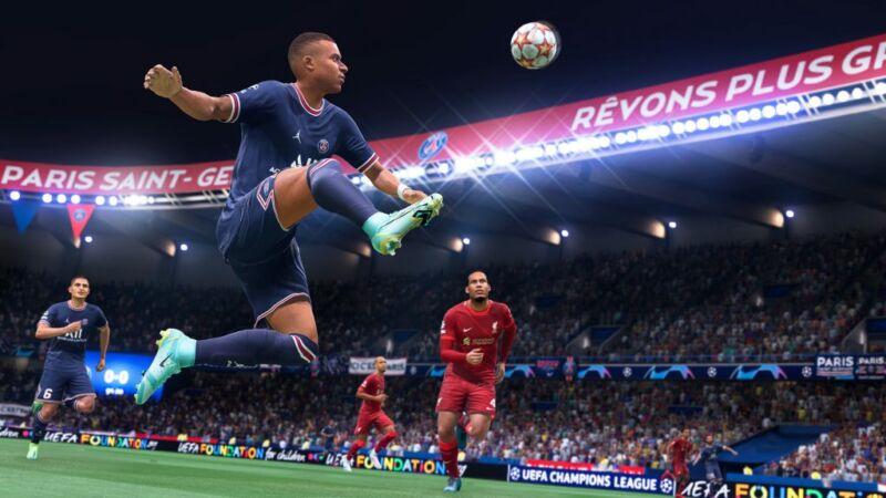 FIFA 2022 Hypermotion Technology