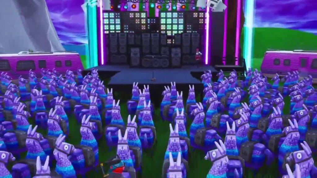 Ariana Grande's Fortnite Concert