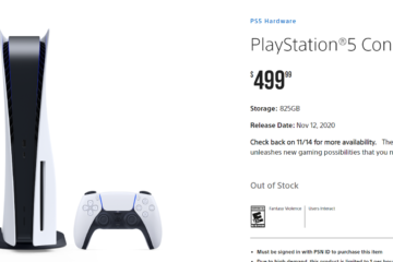 PS5 will be Restocked This Week for PlayStation Direct