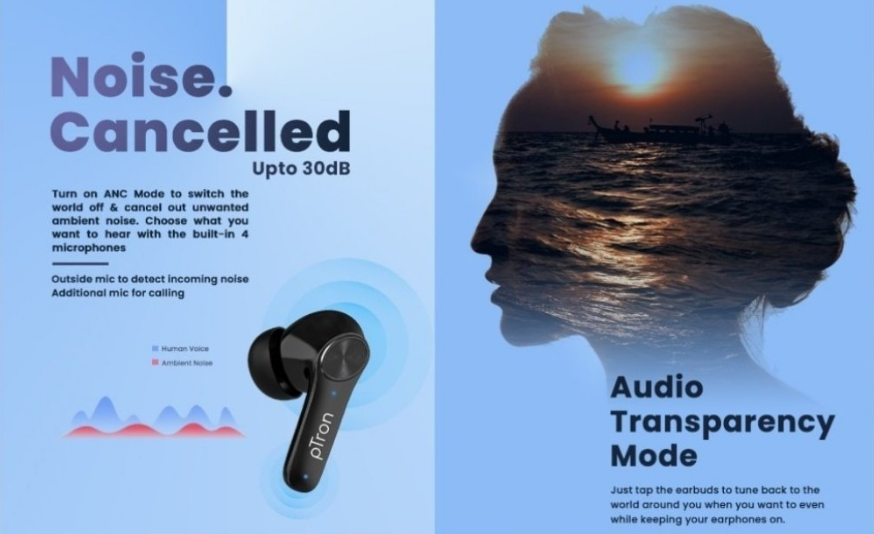 pTron Bassbuds Ultima – Specification and Features