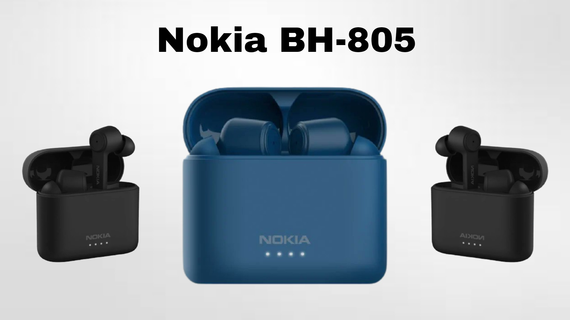 Nokia launches BH-805 noise-canceling TWS earbuds in Europe for 99.99 euros