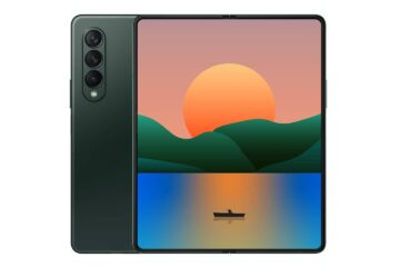 Additional renders for Galaxy fold 3 leaked online showing new color choice
