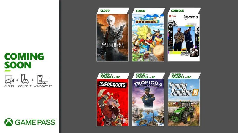 Xbox Game Pass In July 2021