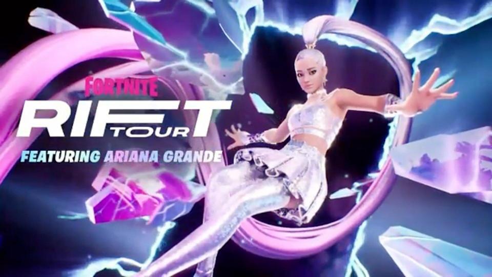 Ariana Grande To Headline Fortnite's Rift Tour