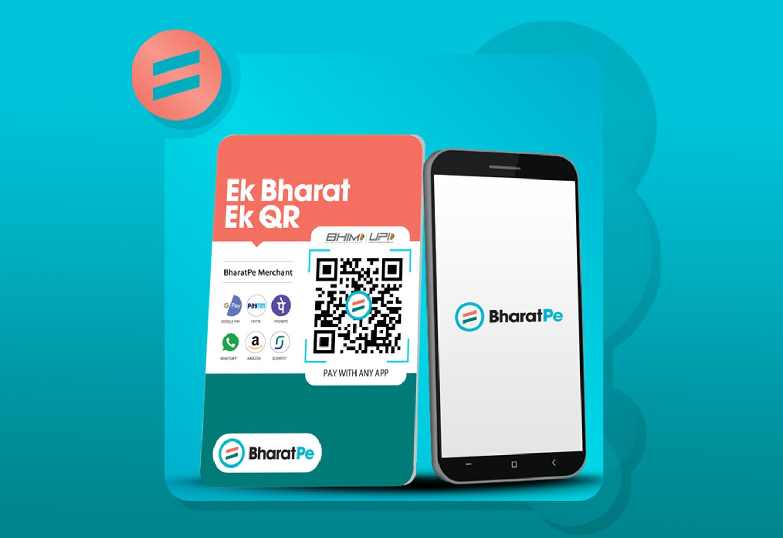 Bharatpe promotional banner Image