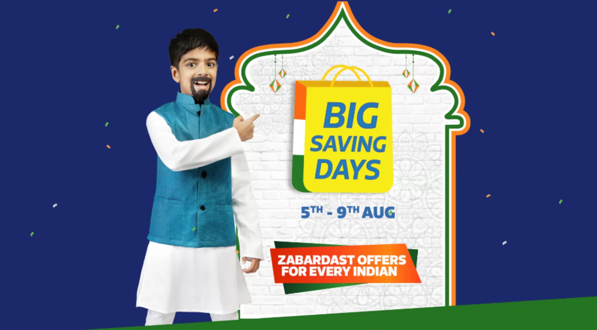 Flipkart Big Saving Days Sale Banner Image