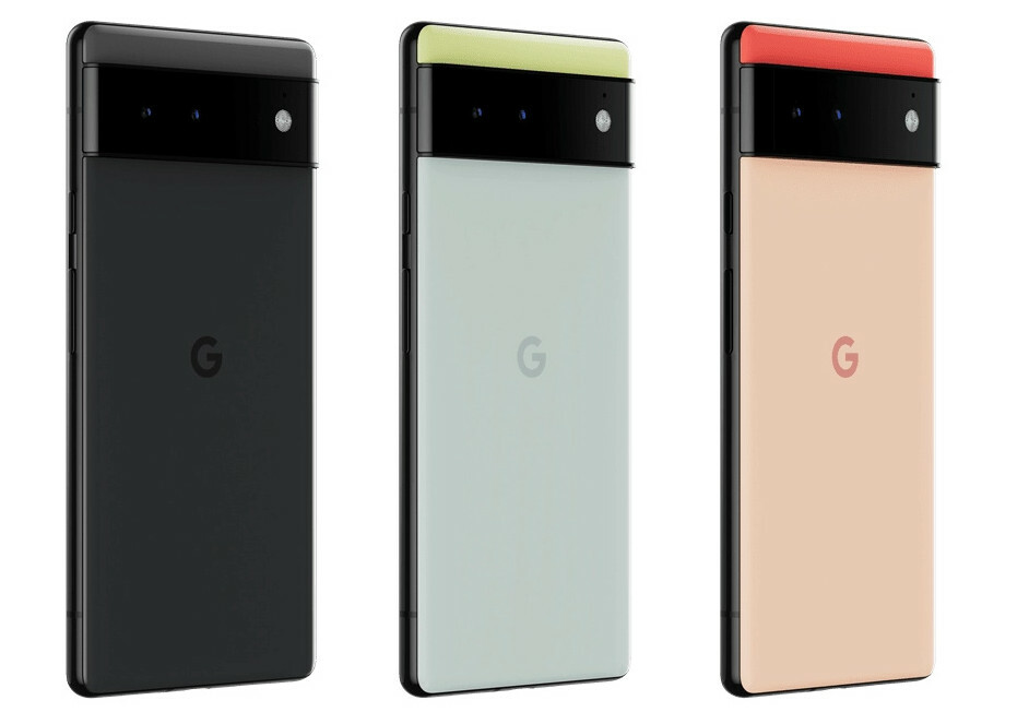 Google Pixel 6 Series - Looks from back