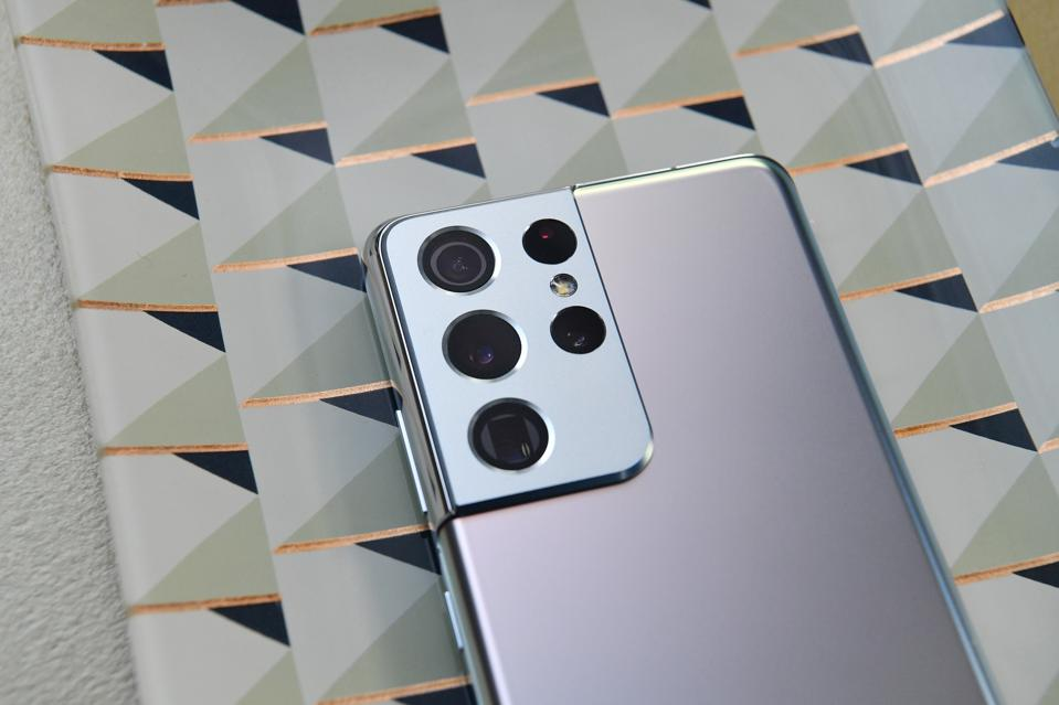Samsung S22 with new camera sensor